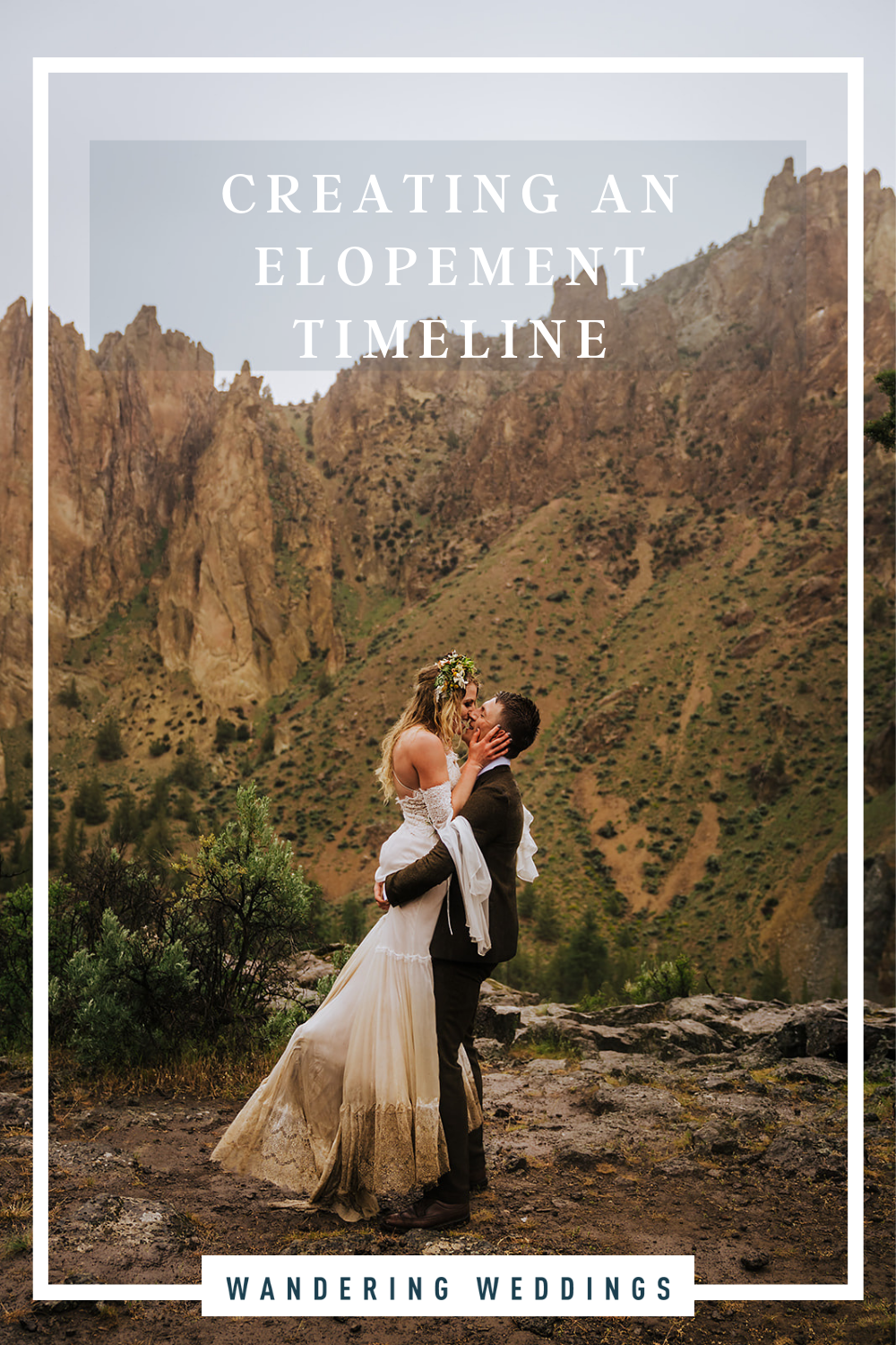 Creating an elopement timeline