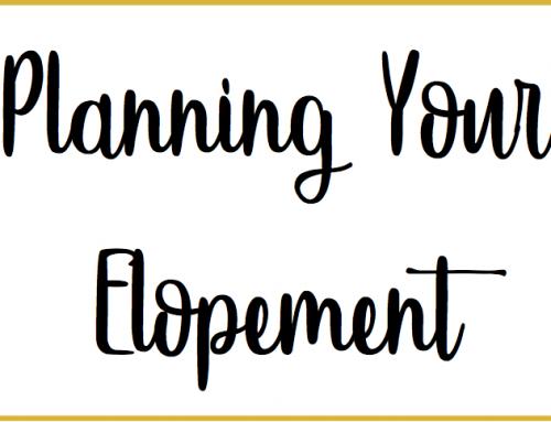 Planning Your Elopement