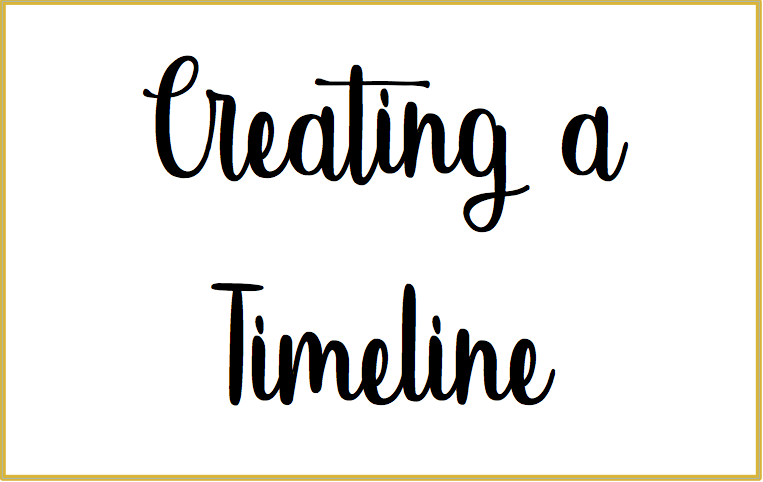 Creating a Timeline