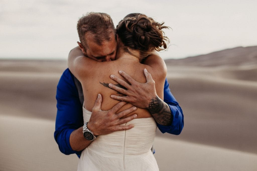 great sand dunes national park colorado elopement wedding