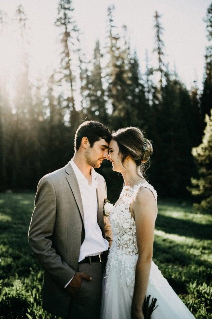 yosemite national park ca intimate wedding