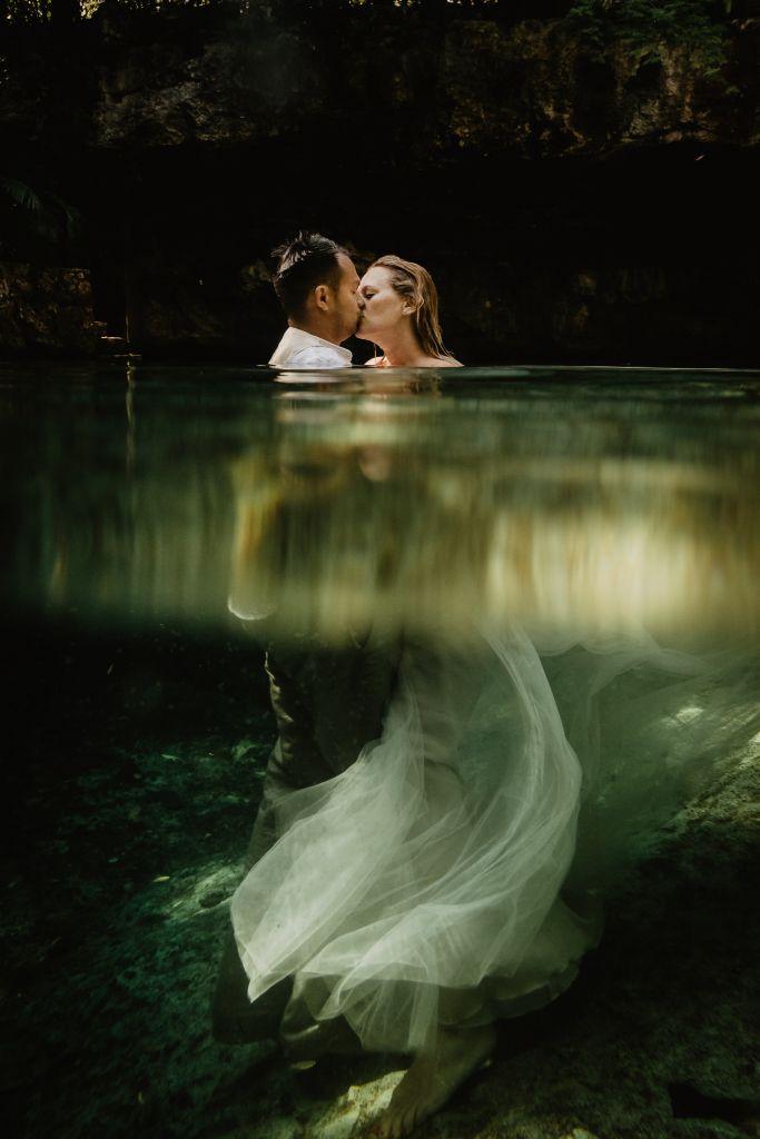 Adventurous Tropical Wedding in Playa del Carmen, Mexico | Mirela & Franz