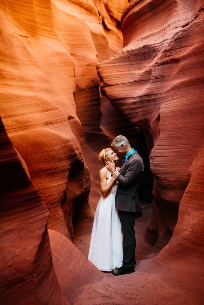 Joyous Intimate Wedding at Horseshoe Bend, AZ | Cheryl & Brad