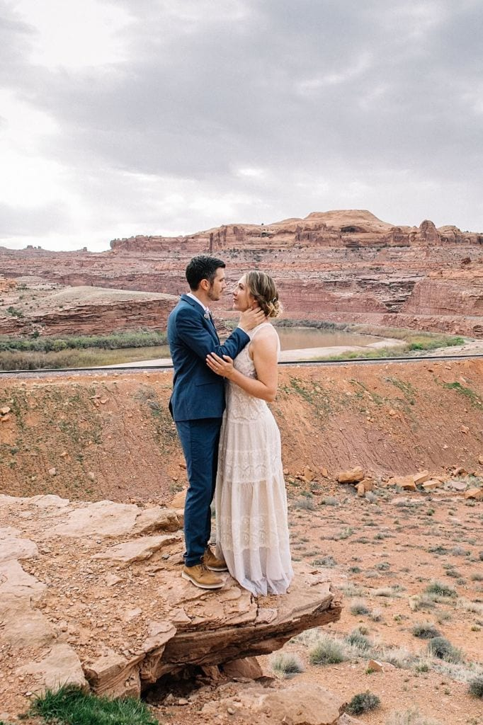 Radiant Intimate Wedding in Moab, UT | Taylor & Dan