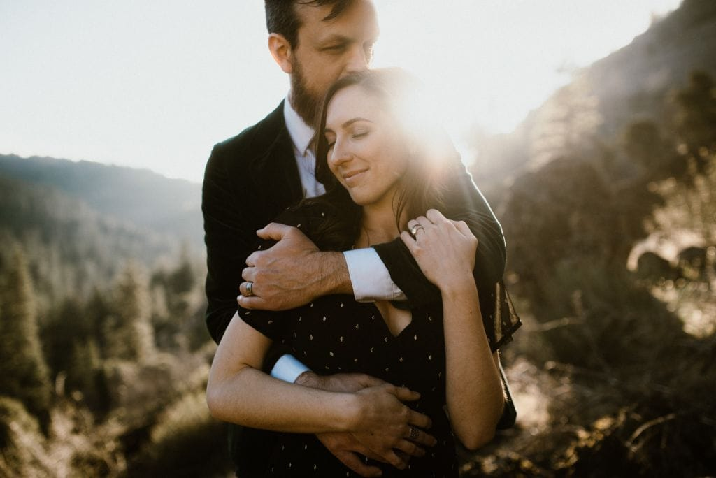 Mountainous Engagement Session in Lassen Volcanic National Park, CA | Hana & Kevin