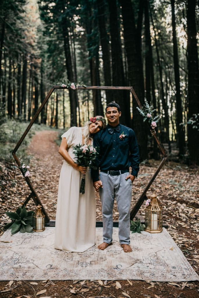 Woodland Elopement Inspiration in the Makawao Forest, HI | Mackenzie & Fred