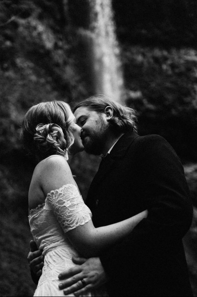 Lush Forest & Waterfall Wedding in Silver Falls State Park, OR | Brooke & Kyle