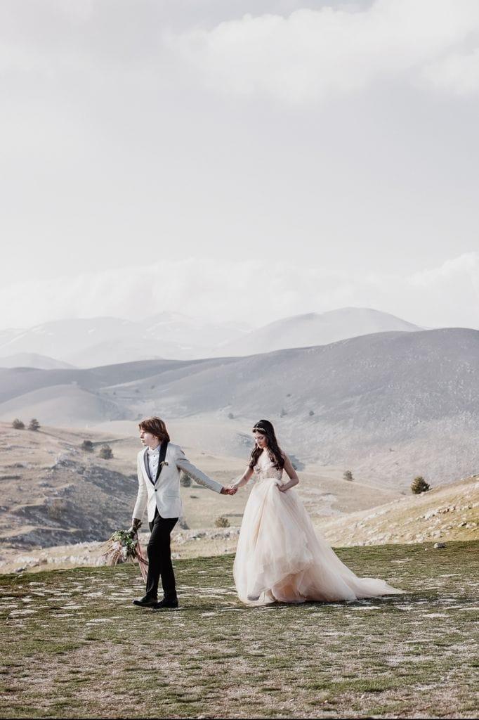 Stunning Elopement Inspiration in Abruzzp, Italy   Clare & Graig