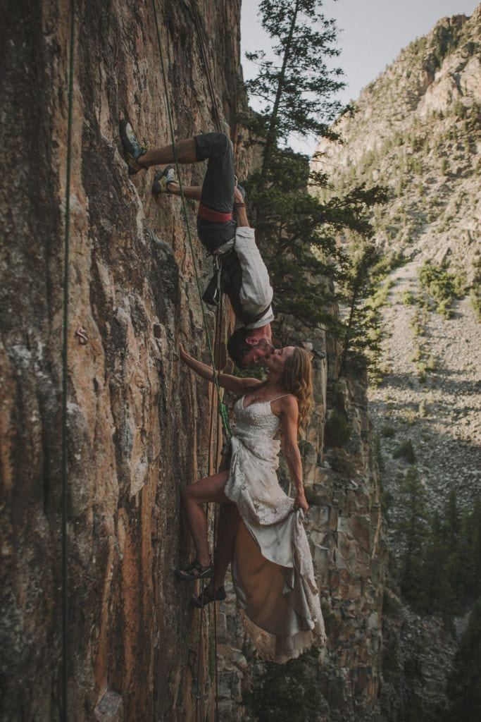 Daring Post-Wedding Rock Climbing Adventure in Redstone, CO | Christen & Nick