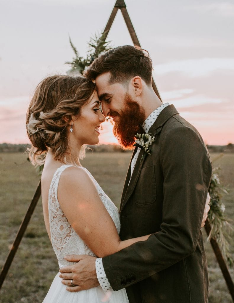 Golden Hour Elopement Inspiration in Ave Maria, FL | Maggie & Micah