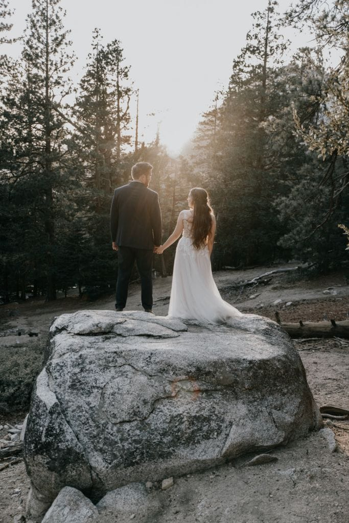 Rustic, Woodsy Elopement in the San Jancito Mountains, CA | Kelsey & Brian