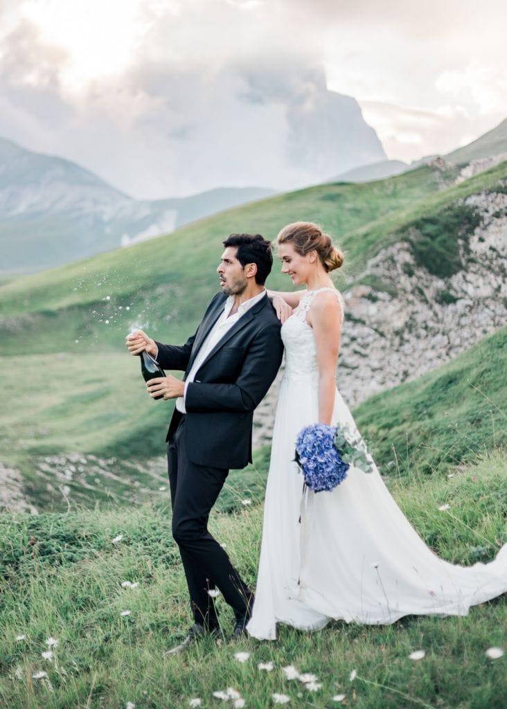 Mountain Elopement Corno Grande Abruzzo Italy