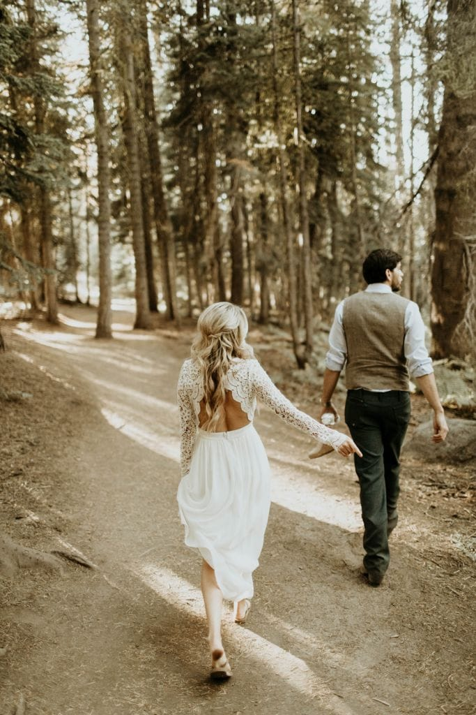 adventurous yosemite national park elopement wedding