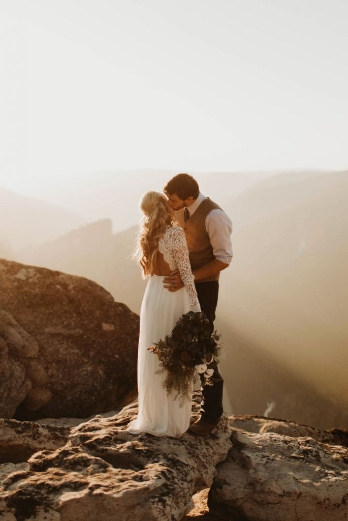 Tranquil Elopement in Yosemite National Park, CA | Kaylie & Michael