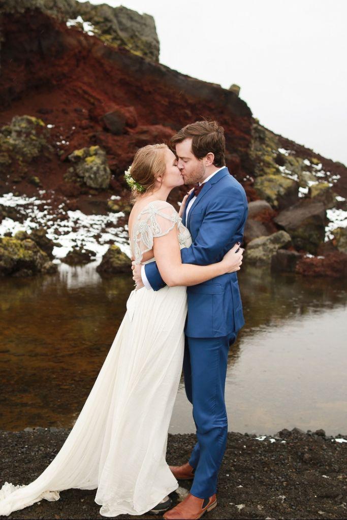 Heartwarming Inclement Elopement in Reykjavík, Iceland | Lindsay & Simon