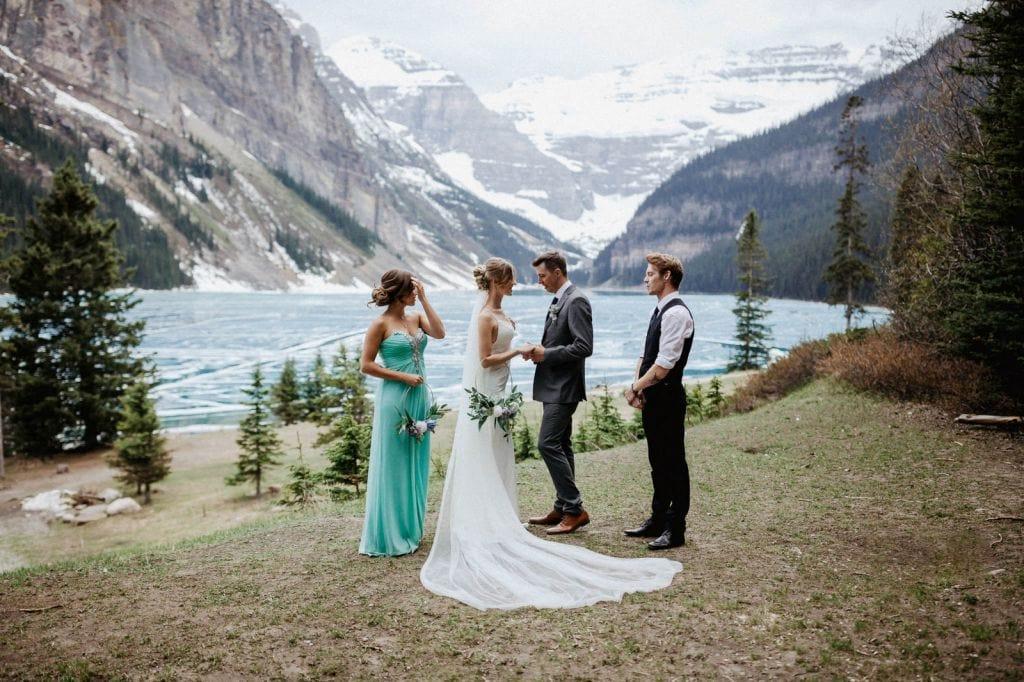 Stunning Lake Louise Styled Wedding At Banff National Park