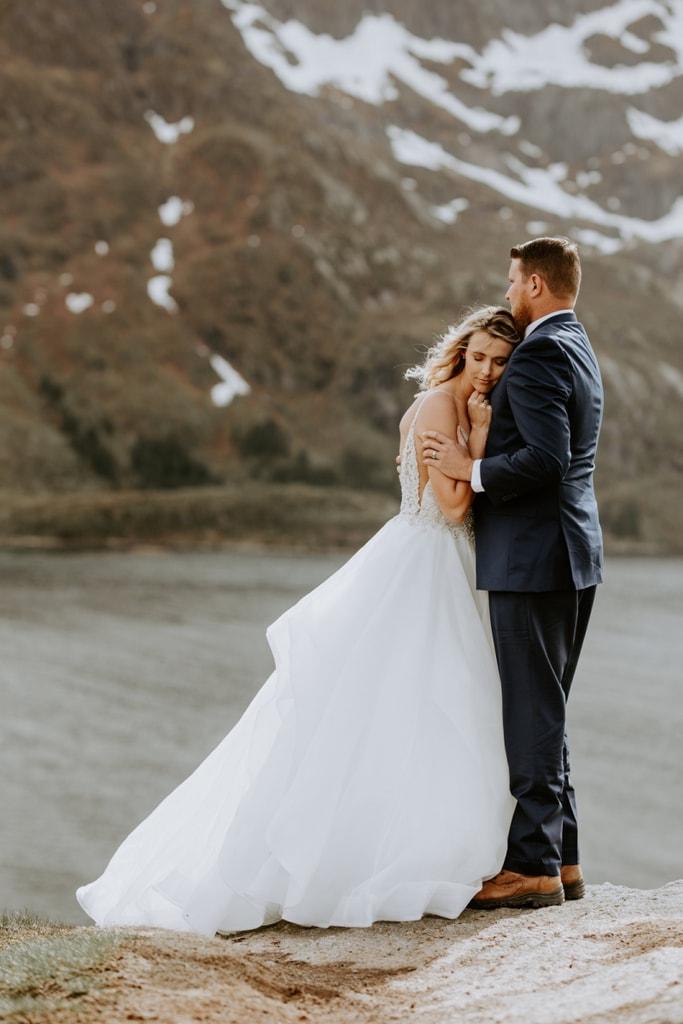 Wedding Vow Renewal.Breathtaking Lofoten Islands Vow Renewal In Leknes Norway Holly