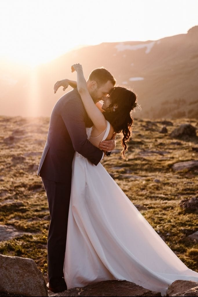 Gorgeous, Post-Wedding Adventure in Rocky Mountain National Park, CO   Diana & Will