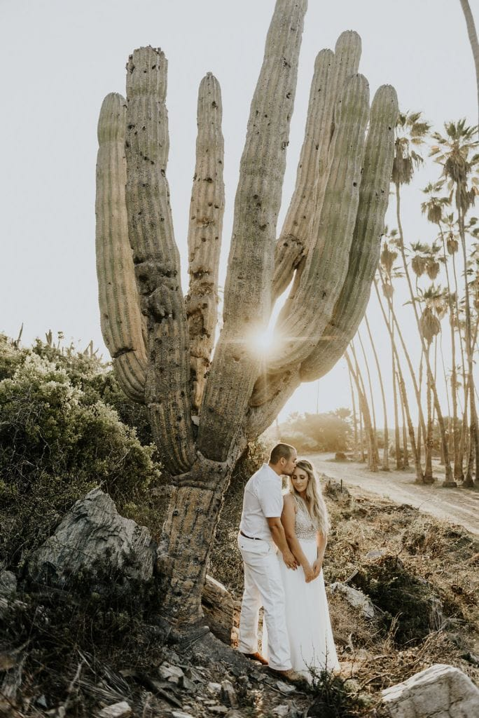 Intimate Desert Wedding in Baja California Sur, Mexico | Marina & Colton