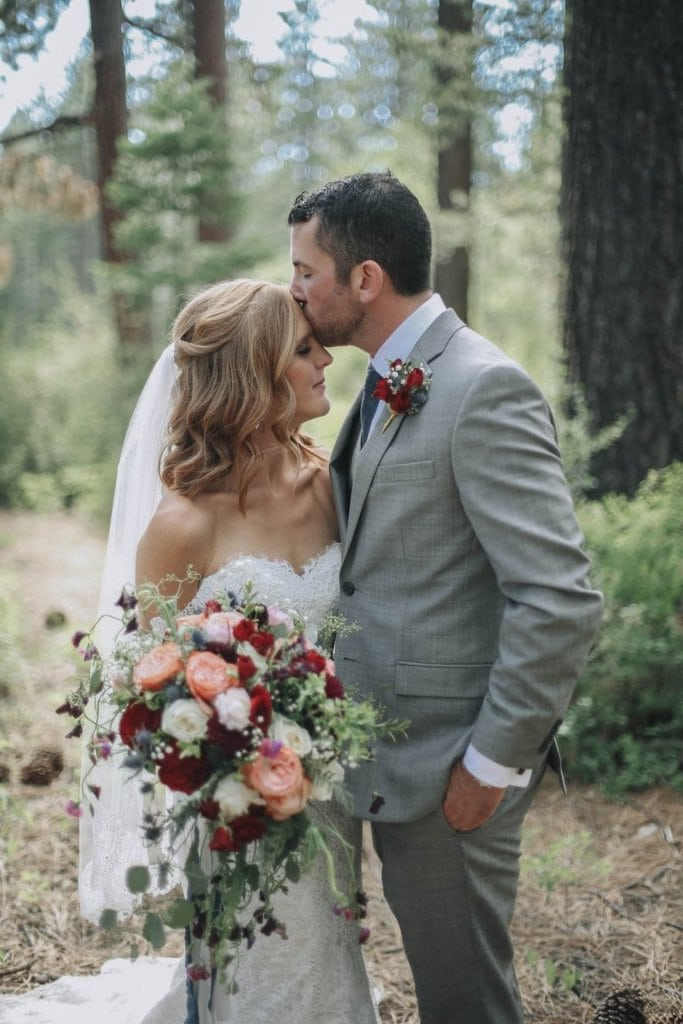 north lake tahoe dollar point rustic wedding