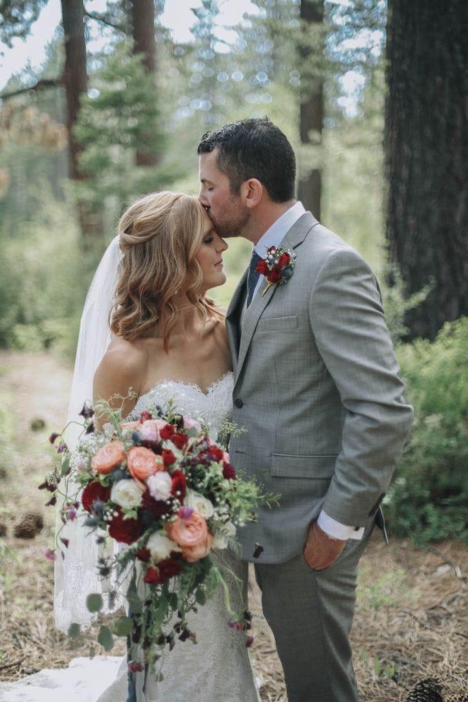 North Lake Tahoe Backyard Wedding in Dollar Point, CA   Jessica & Brett