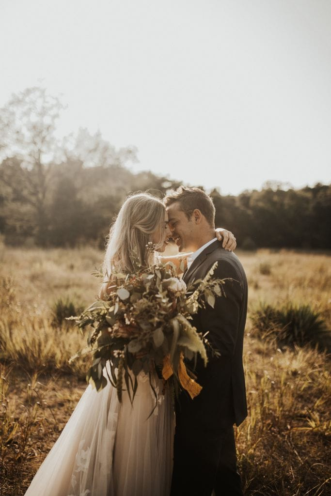 Whimsical Golden Hour Styled Elopement in Holland, MI | Cassidy & Caleb