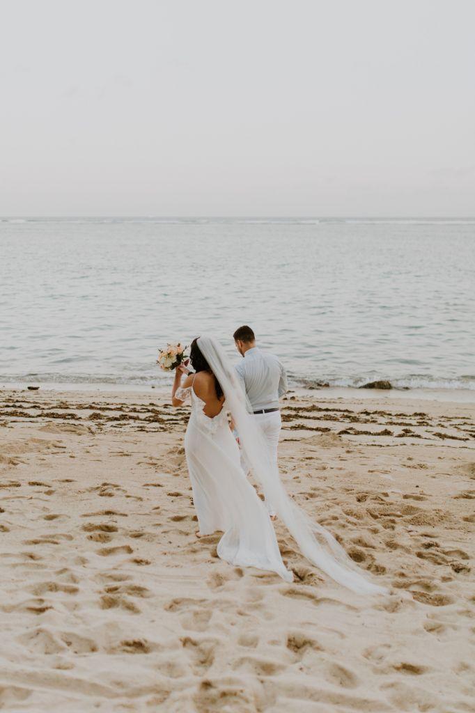 samabe villas beach resort bali elopement wedding