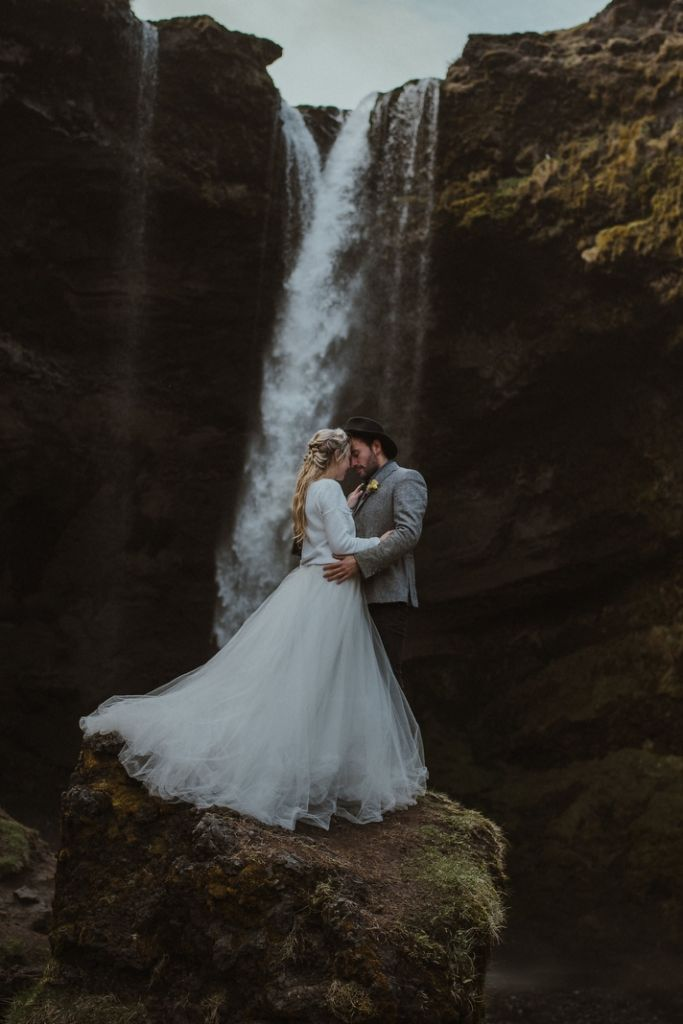 Breathtaking Elopement in Wondrous Southern Iceland | Anne-Sophie & Laurent
