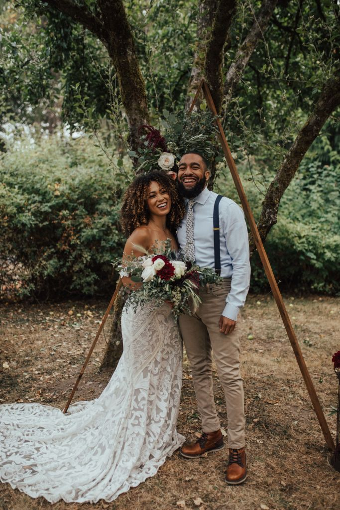 Mercer Island Styled Elopement at Luther Burbank Park, WA
