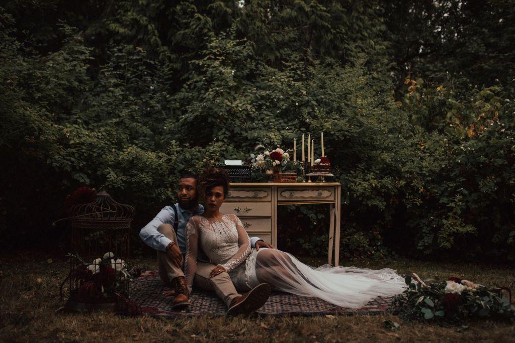 pnw elopement luther burbank park mercer island washington