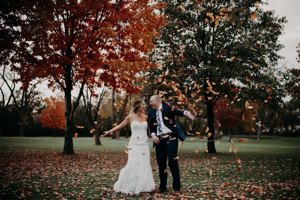 fall elopement autumn wedding
