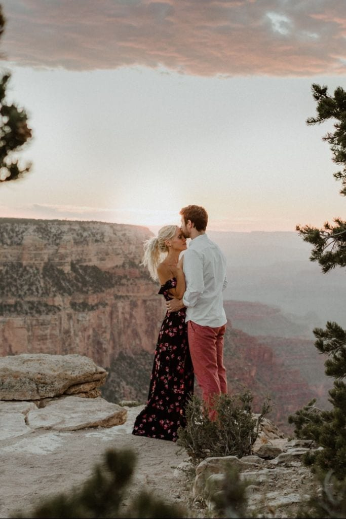 Stunning Grand Canyon National Park Engagement Session, AZ | Allie & Marc
