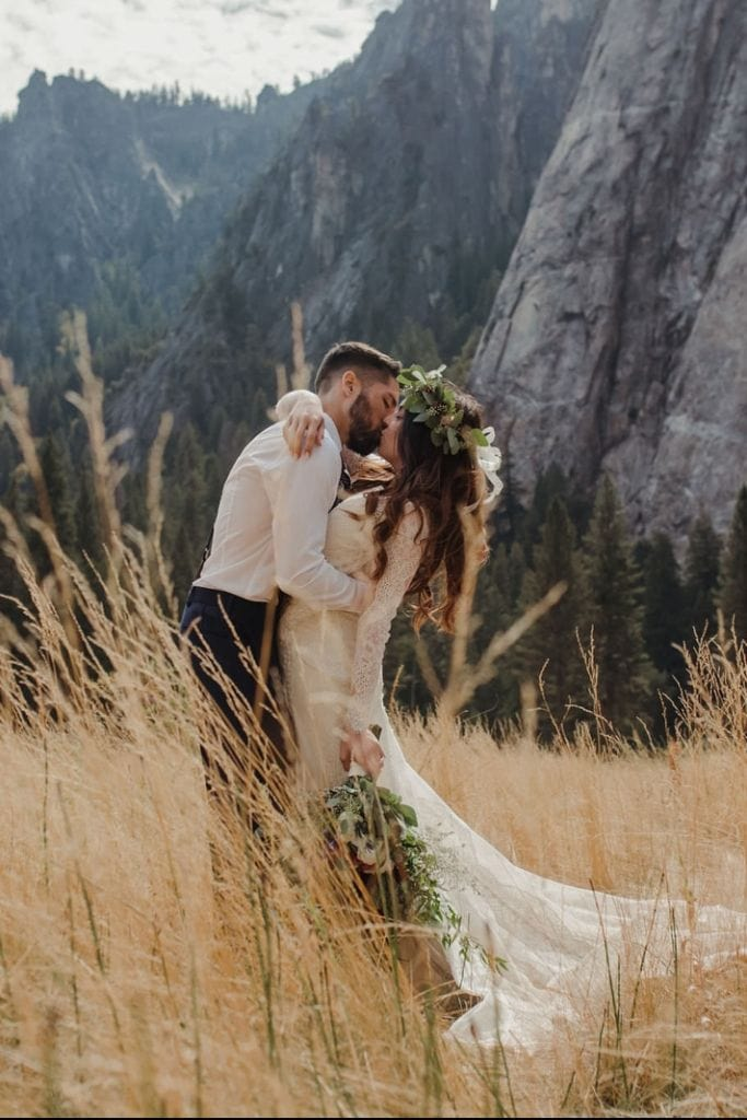 Enchanting Elopement Adventure at Yosemite National Park, CA | Christie & Eddie