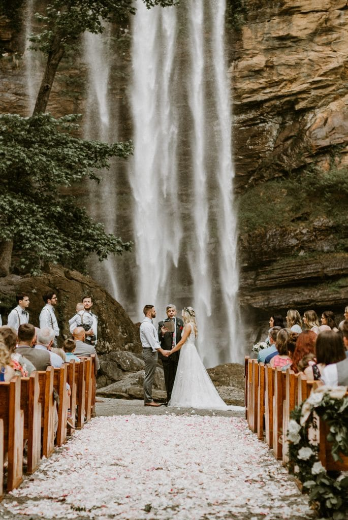 Incredible Waterfall Wedding in Toccoa, GA | Savannah & Ian