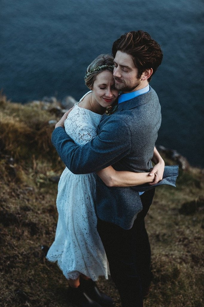 black church snaefellsnes peninsula iceland elopement adventurous wedding