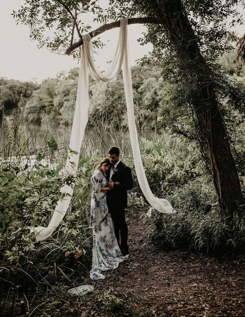 Gorgeous Lake Wedding Inspiration in Austin, TX | Jodi & Anthony
