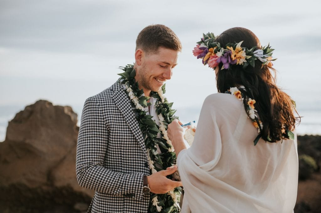 haleakala national park hawaii sunrise volcano elopement wedding