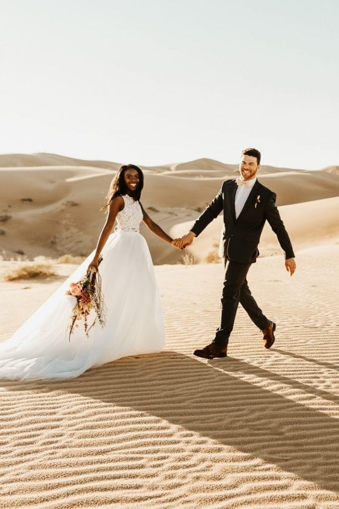 Magical, Sand Dunes Elopement Inspiration in Glamis, CA | Hillary & Garrett