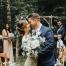 intimate boho elopement pnw wedding olympic national park washington