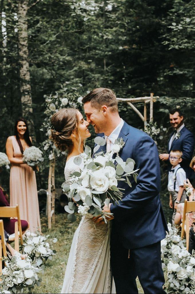 Intimate Boho Wedding at Olympic National Park, WA | Vanessa & Tim