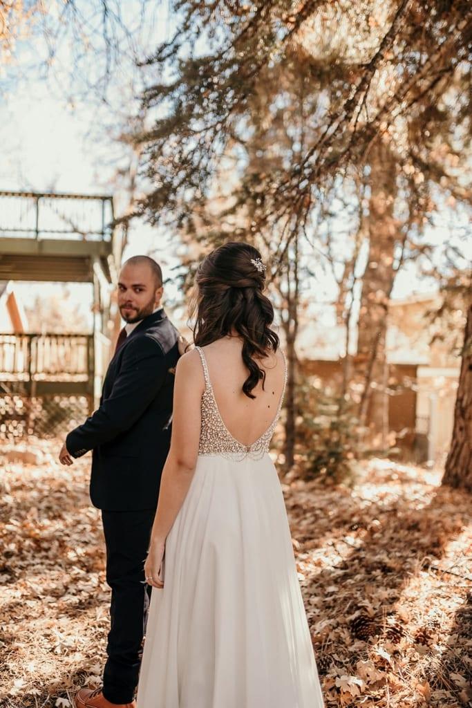 big bear mountain southern california elopement wedding