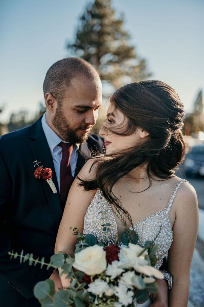 big bear mountain southern california elopement wedding