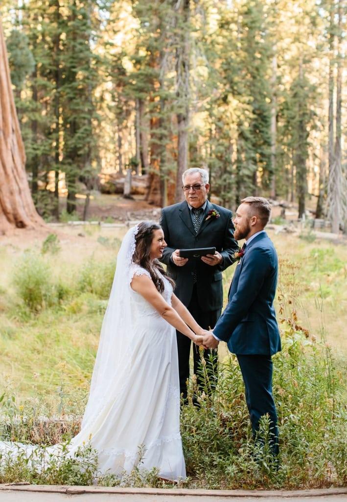 round meadow sequoia national park california elopement wedding