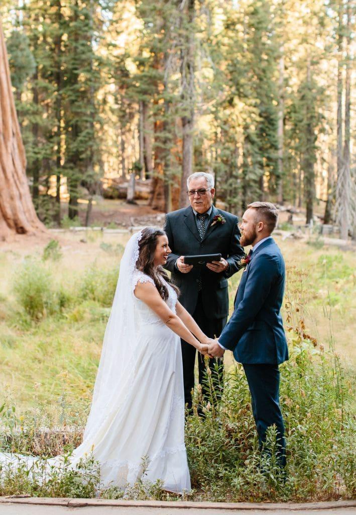 sequoia national park ceremony