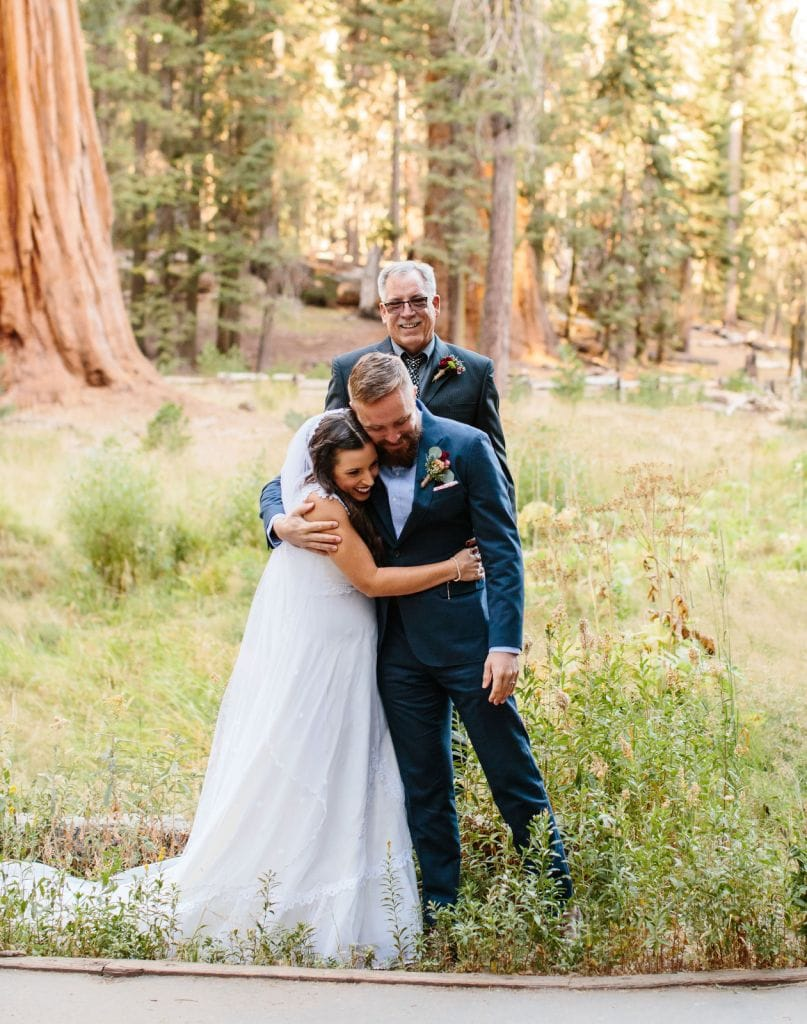 elopement ceremony moments