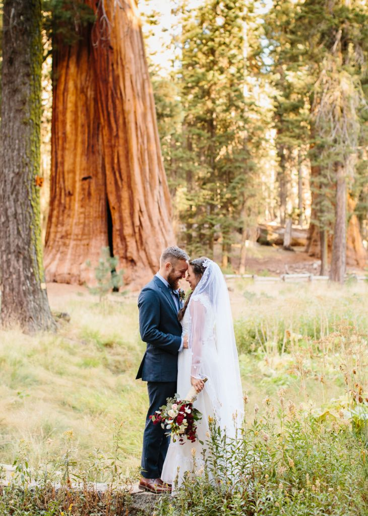 wedding photography in forest