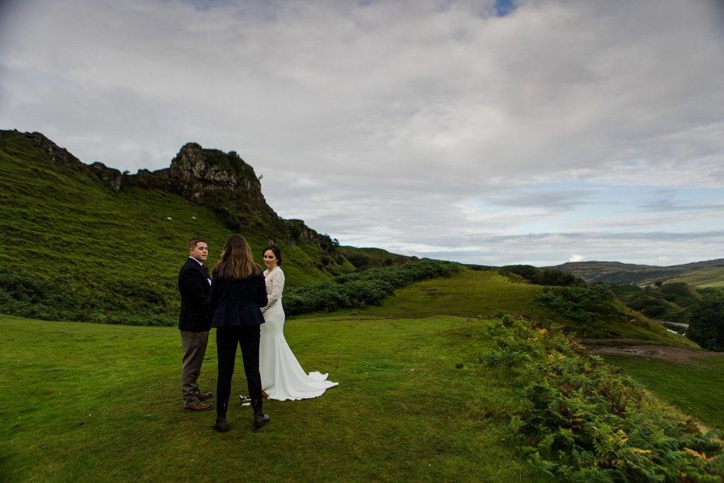 Scotland elopement adventure
