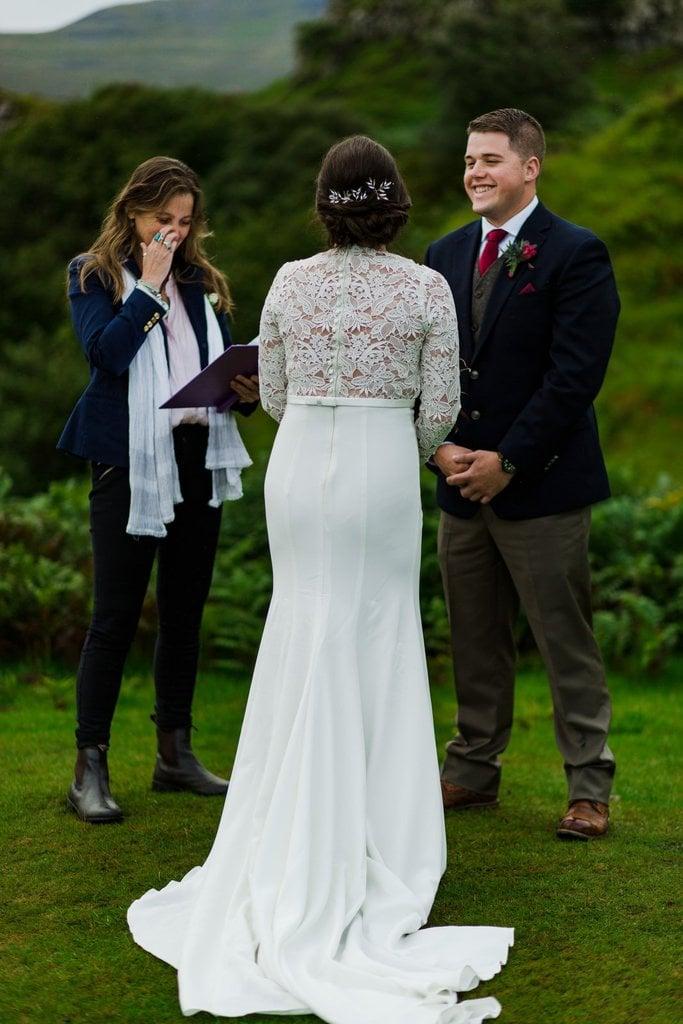 emotional elopement ceremony