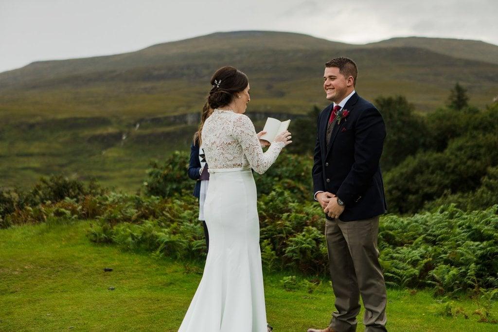 emotional bridal vows