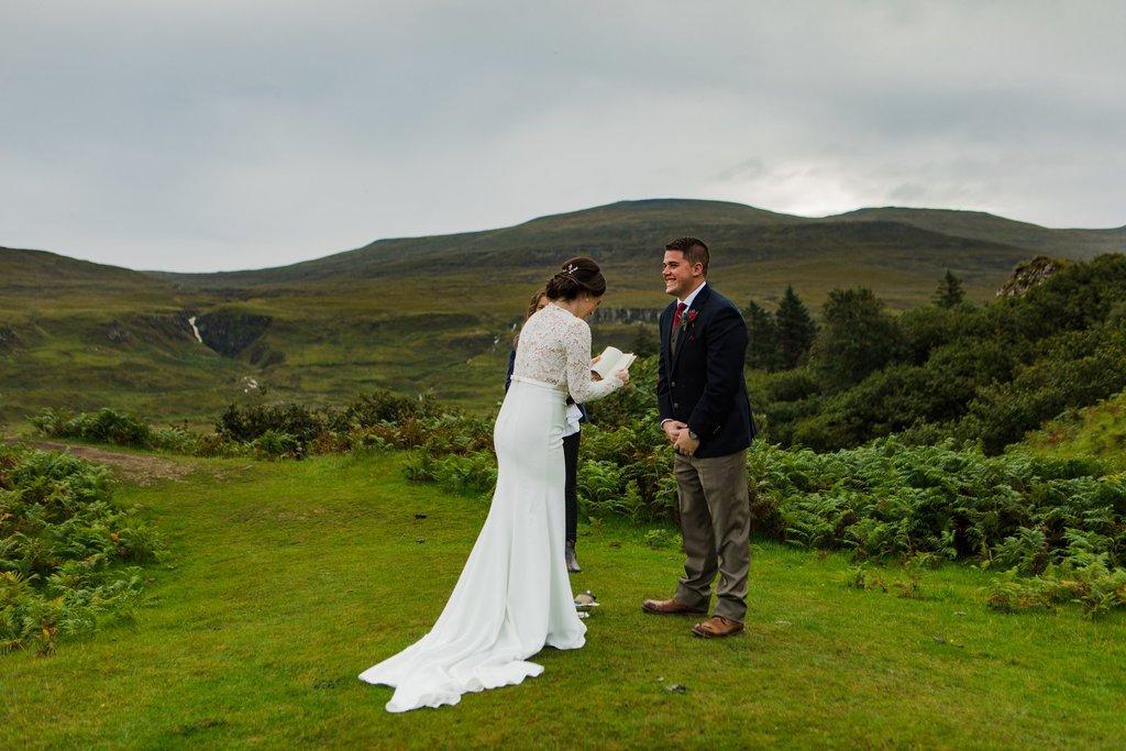 personal elopement vows